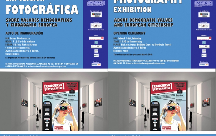 Photography contest and exhibition on  democratic values and european citizenship